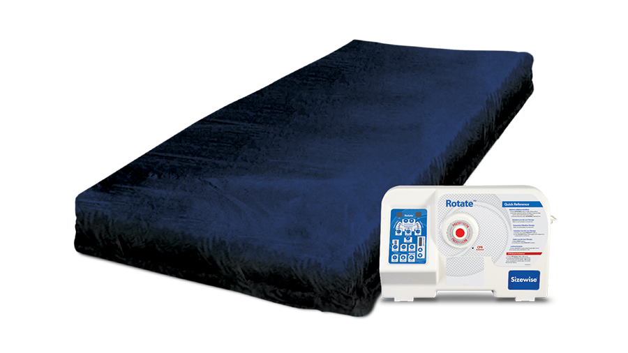 Rotate Air Mattress With Blower Unit